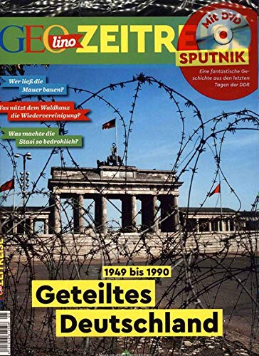 GEOlino Zeitreise mit DVD 05/2018 - Geteiltes Deutschland: DVD: Sputnik