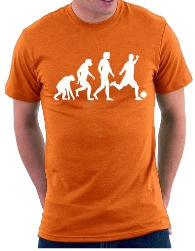 Evolution Fußball T-shirt Orange