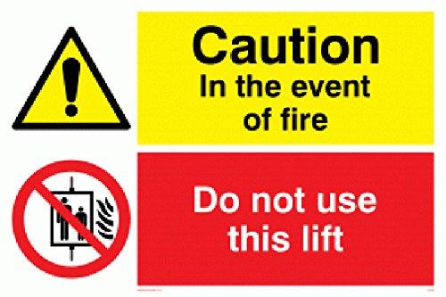 Nicht Verwenden, Lift (Viking Schilder cv140-a4l-v