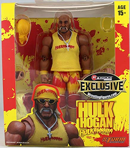 WWE Figur Hulk Hogan Elite Yellow Ringside Collectibles Exclusive (Hulk Hogan Wwe)