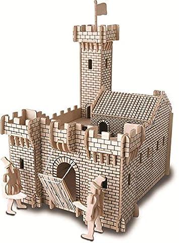 Knight Castle QUAY Woodcraft Construction Kit
