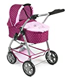 Bayer Chic 2000 638 29 – Passeggino combinato Emotion 2 in 1, Dots mora, lilla/rosa