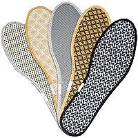 Atmungsaktives absorbierendes Schweiß-Deodorant-starke warme Schuhe Winter-Einlegesohlen - 5 Paare, J preisvergleich bei billige-tabletten.eu