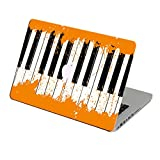 Orange Piano laptop skin for apple macbook Pro 13 inch