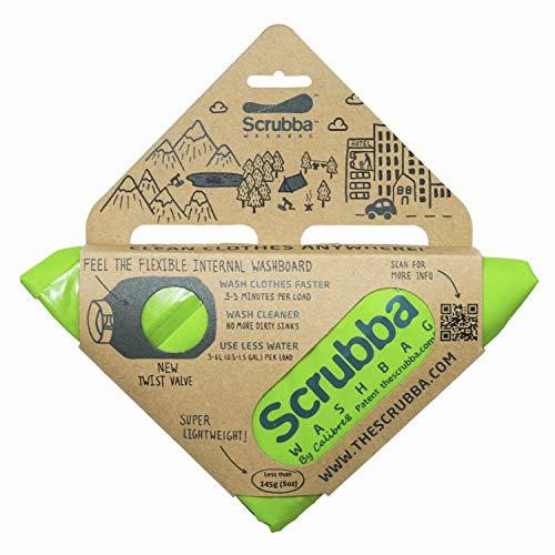 Scrubba Wash Bag 2.0 - Outdoor Camping Waschmaschine - Waschtasche & Waschbeutel
