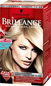 Schwarzkopf - Colorations Brillance Blondes 819 - Couleur : Crystal Champagne