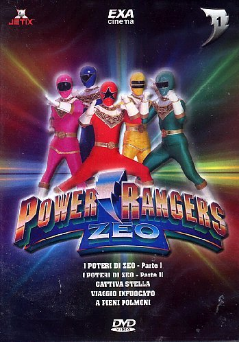 POWER RANGERS ZEO VOL 1 ITALIA