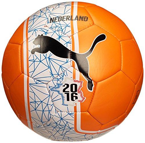 Pallone da calcio PUMA Country Fan balls non-ufficiale, Arancione/Bianco/Nederland, 5, 082607 04