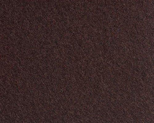 Schultertasche aus Filz (100% Wolle) Tasche von i.Punkt Schoko