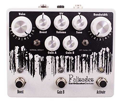 EarthQuaker Devices Palisades · Pedal guitarra eléctrica