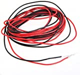 FACILLA® 2x 3M 22 Gauge AWG Silicone Rubber Wire Cable Red Black Flexible [Misc.]