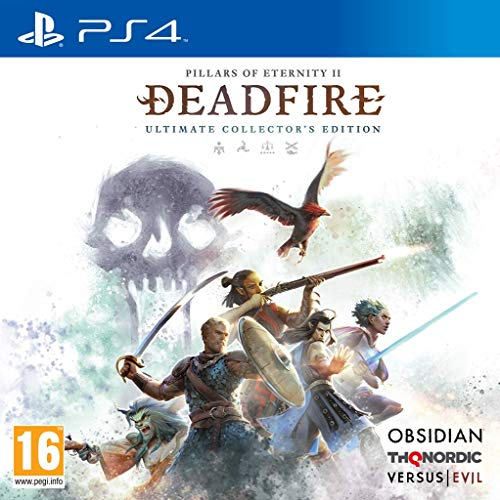 THQ Pillars of Eternity II: Deadfire - Ultimate Collector's Edition - PlayStation 4 (PS4)