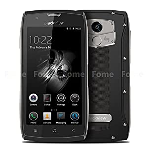 Smartphone Unlocked, Blackview BV7000 PRO IP68 Waterproof 5 inch Smartphone Android 6.0 Smartphone 4G Smartphone Dual SIM MT6750T Octa Core 4GB+64GB 8.0+13.0MP Dual Camera with 3500mAh Li-Battery