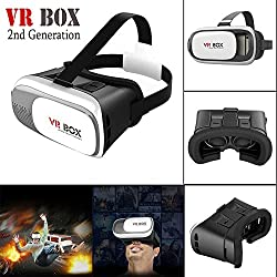 US1984 VR ( 2017 ) Virtual Reality Headset - Fully Adjustable VR Glasses - VR Headset For VR Video Gaming, Movies, Pictures - Compatible With All 3.5 - 6 Android Phones, iPhones, Samsung Galaxy. Inspired by Google Cardboard