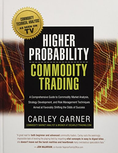 HIGHER PROBABILITY COMMODITY TRADING: A Comprehensive Guide to Commodity Market Analysis, Strategy Development, and Risk Management Techniques Aimed at Favorably Shifting the Odds of Success por Carley Garner