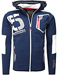 Geographical Norway – Chaqueta con capucha desmontable