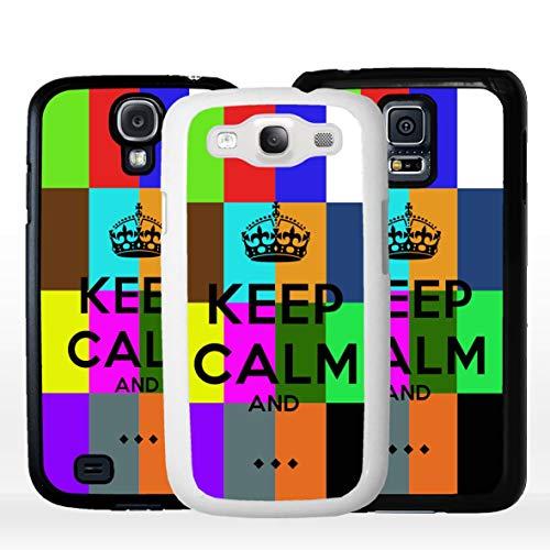 Geketto Store Cover Per Samsung In Tema Keep Calm Personalizzato, Samsung Galaxy S5 Neo, Bianco