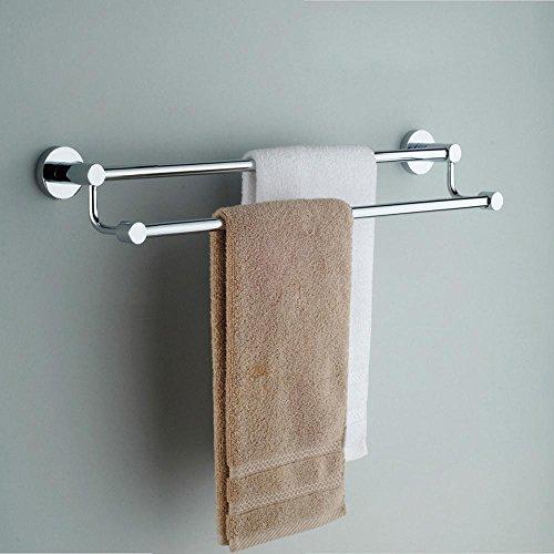 BBSLT-Moderno bagno asciugamano bar, in acciaio inox rame placcato, doppia