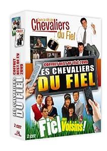 Les Chevaliers du Fiel - Coffret Best of télé 2 DVD - Toute la télé des Chevaliers du Fiel + Fiel mes voisins !