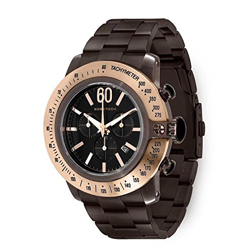 glam-rock-mens-sobe-50mm-brown-ip-steel-bracelet-case-swiss-quartz-black-dial-analog-watch-gr33109n