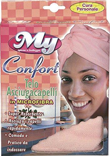 Serviette sèche-cheveux Confort en microfibre super absorbante serviettes pour cheveux