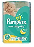 Pampers New Baby Dry Paquet de 68couches Taille 2(3-6kg)
