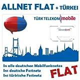Türk Telekom O2 Türktelekom Sim Karte Prepaid Allnet Flat + Türkei
