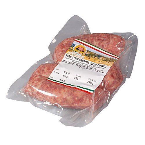 Italian Pork Sausages with Fennel, +/- 320g, Fresh