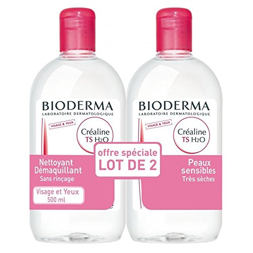 Bioderma Créaline TS H2O Solution Micellaire Lot de 2 x 500 ml