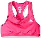 Best adidas Base Layers - Adidas Big Girls' Gym Bra, Neon Pink, S Review