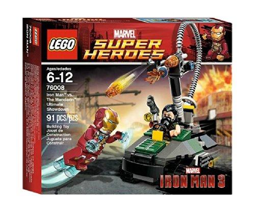 LEGO Marvel Super Heroes 76008 - Iron Man vs. The Mandarin Letzte Entscheidung