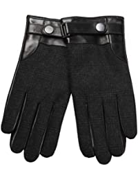 ELMA Men's Thinsulate Quilted Winter Driving Gloves for Out Door Sport