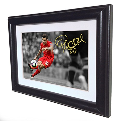 signed-philippe-coutinho-liverpool-autographed-photo-picture-frame-sm