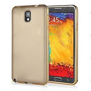 Bumper With Back Cover for Samsung Galaxy E5 Golden