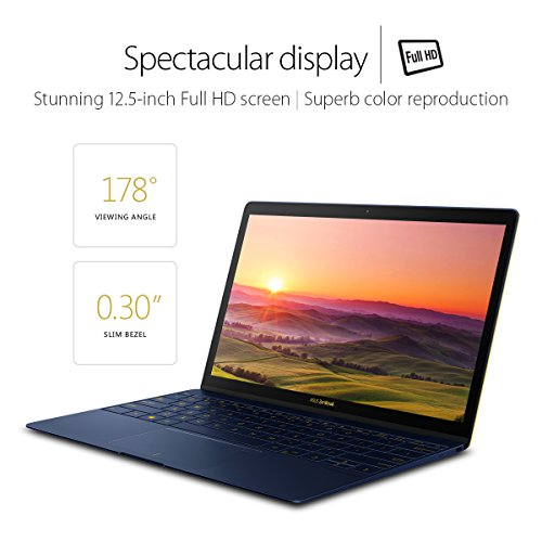 Asus Zenbook 3 UX390UA-XH74-BL Laptop (Windows 10, 16GB RAM, 512GB HDD) Blue Price in India
