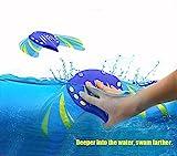Kreatives Schwimmen Kinder-Spielwaren-Wasser-Energie-Teufel-Fisch-Tauchen-Spielwaren schwimmen durch Wasser-Druck-einzigartige Spielwaren keine Batterie erforderte justierbare Flossen Wasser Sport Spielzeug im Freienstrand-Spielwaren-Kind-Geschenk