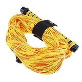Baoblaze 1 Stück Gelb Wakeboard Wasserski Seil für Wasserski, Wakeboarding, Kneeboarding Wassersport Skifahren