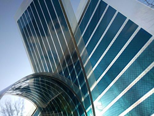 Organische Photovoltaik Modul | Solarfolie | OPV | Organic Photovoltaic | blau