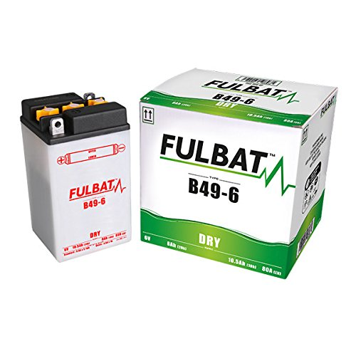 Fulbat - Batteria moto B49-6 6V 8Ah - Batteria/
