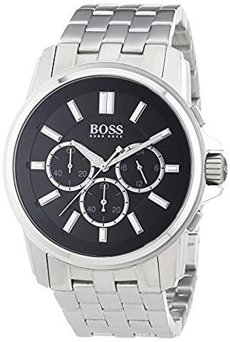Hugo Boss Herren-Armbanduhr XL Origin Chronograph Quarz Edelstahl 1513046