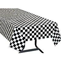 Yooyee Manteles mesa rectangular, 2 Paquetes Blanco Manteles de Plástico, 137 x 274cm Desechables Manteles, Restaurante de boda Banquete Decoración
