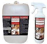 CleanPrince 5,5 Liter SAUNAREIN Saunareiniger Saunareinigungsmittel Sauna Reiniger Sauna-rein Saunen Desinfektion Saunareinigung Saunadesinfektion NEUE REZEPTUR