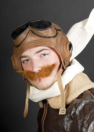 Biggles Fighter Pilot Aviator Hut Headpiece (Biggles Kostüm)