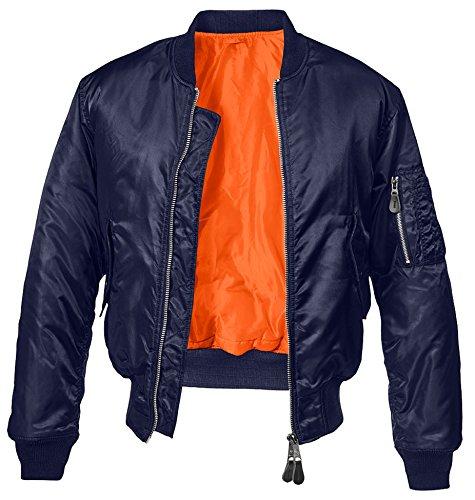 Brandit MA1 Jacke Dark Navy L