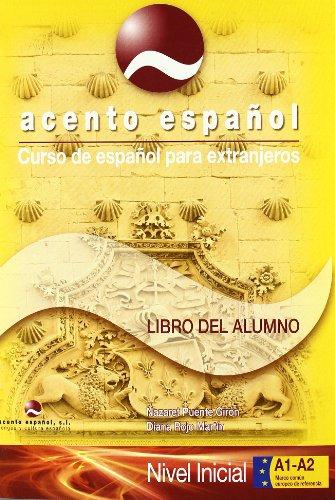 Curso de español para extranjeros / Spanish course for foreigners: Acento Español, A1+A2. Libro del alumno con cd (enero 2010)