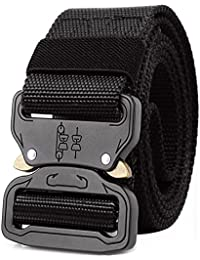 "ALAIX Cinturón táctico estilo militar Cobra cinturón 1.5 ""de ancho"