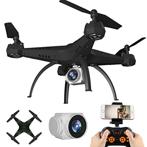 MMLC 2.4G HD Camera FPV WIFI Drone Quadcopter UAV Lordly Substantiation Helicopter Palpable-pension to on (green)