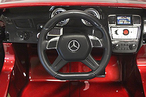 RC Auto kaufen Kinderauto Bild 5: Mercedes Benz GL63 AMG Jeep SUV Lizenz Kinderfahrzeug mit 2x 35W Motor Kinderauto Elektroauto Fernbedienung MP3 Anschluss in Schwarz*