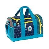 Lässig Mini Sportsbag Sporttasche mit Schuhfach Cars navy, Autos Turnbeutel, 40 cm, Blue