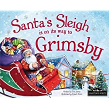Santa's Sleigh is on its Way to Grimsby